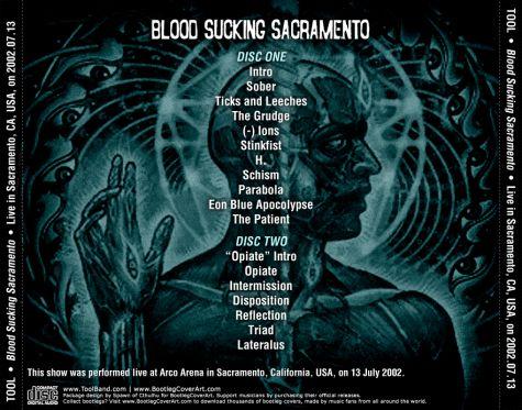 BootlegCoverArt :: Tool - Tool 2002-07-13 SacramentoCA CD